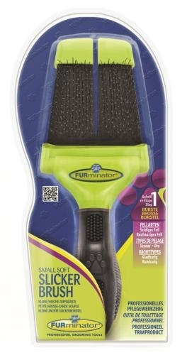FURminator Small Firm Slicker Brush kefe