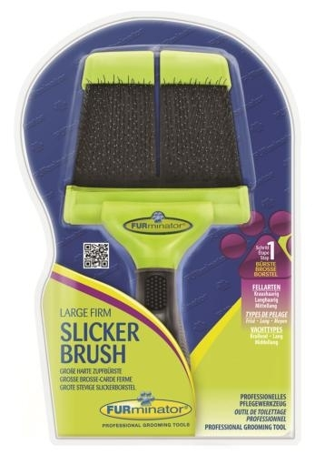 FURminator Large Firm Slicker Brush kefe