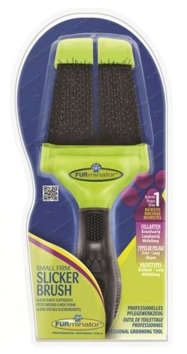 FURminator Small Soft Slicker Brush kefe