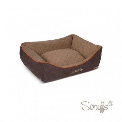 Scruffs Thermal Box Bed kutyafekhely - Barna