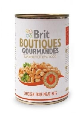 BRIT Care Boutiqoes Gourmandes True Meat Bits Chicken konzerv