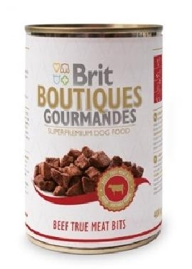 BRIT Care Boutiqoes Gourmandes True Meat Bits Beef konzerv