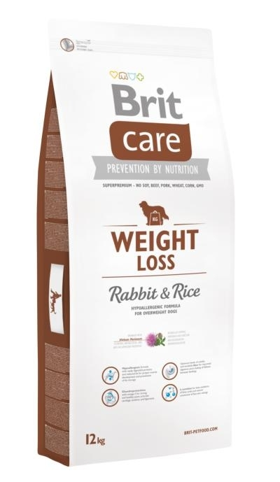 Brit Care Weight Loss Rabbit & Rice kutyatáp (12 kg)