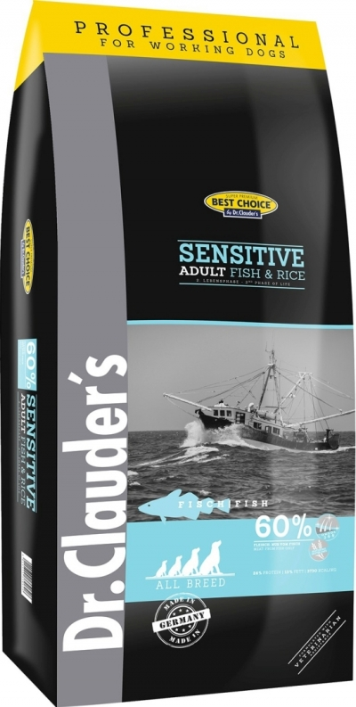 Best Choice Sensitive Fish and Reis Adult all Breed kutyatáp (2x20kg)