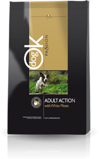 OK Dog Passion Adult Action kutyatáp (2x12,5kg)