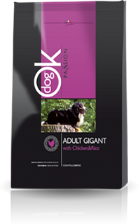OK Dog Passion Adult Giant kutyatáp (25 kg (2x12,5kg))