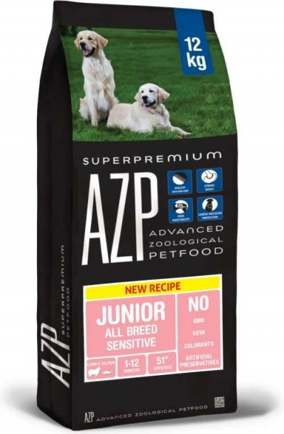 AZP JuniorAll Breed Sensitive kutyatáp