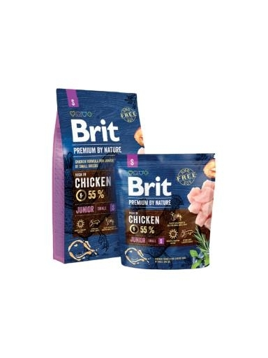 Brit Premium by Nature Junior Small kutyatáp (8 kg)