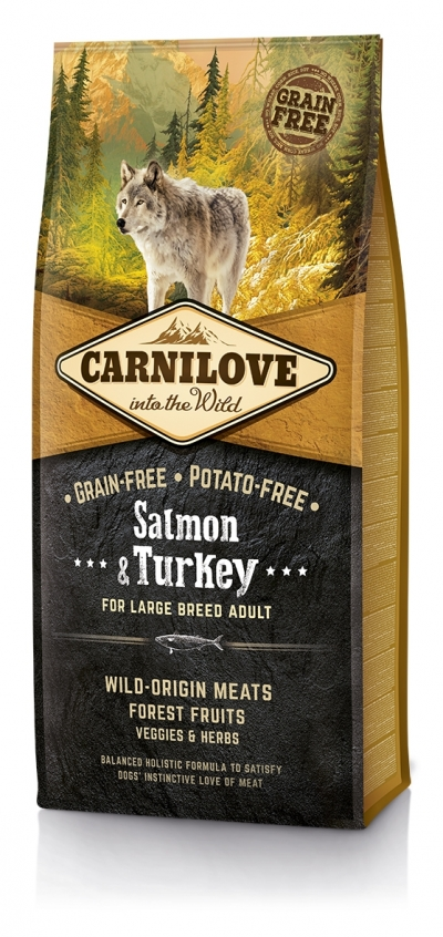 CarniLove Adult large Breed Salmon és Turkey kutyatáp