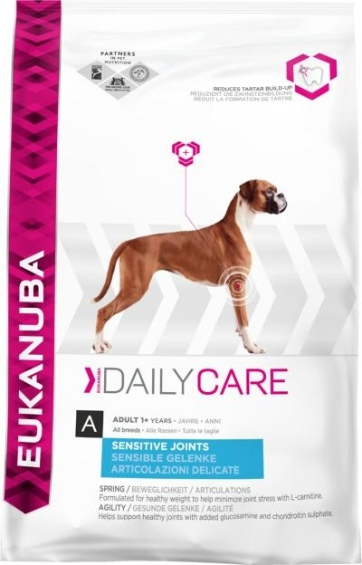 Eukanuba Daily Care Sensitiv Joints kutyatáp, táp kutya, kutyaeledel