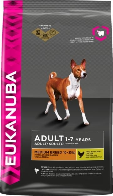 Eukanuba Adult Medium Breed kutyatáp, táp kutya, kutyaeledel