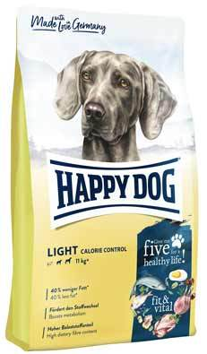 Happy Dog Fit and Vital Light Calorie Controll táp kutyának (12 kg)