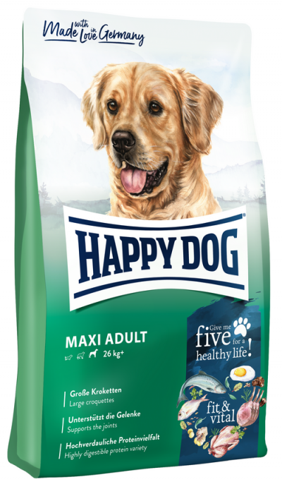 Happy Dog Fit and Vital Maxi Adult táp kutyának (14 kg)