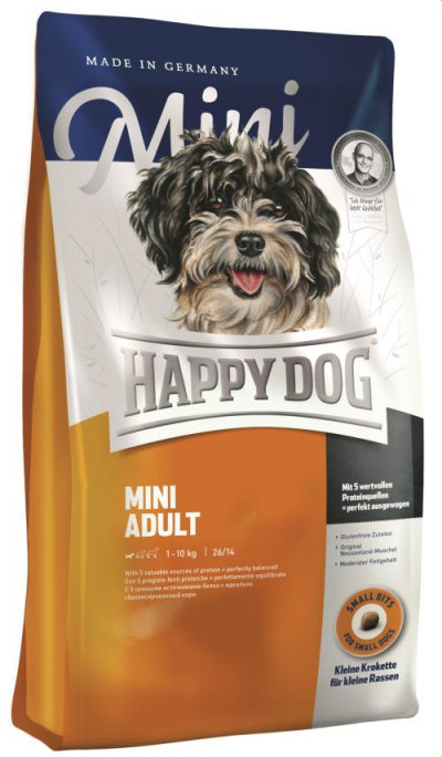 Happy Dog Supreme Mini Adult kutyatáp, happy dog kutyatáp