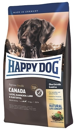 Happy Dog Supreme Sensible Canada táp kutyának  (12,5 kg)