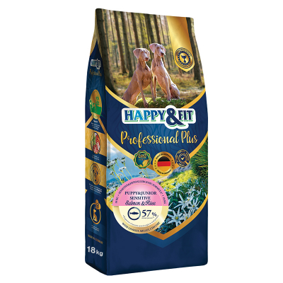 Happy & Fit Professional Plus Puppy&Junior Sensitive Salmon&Rice kutyatáp