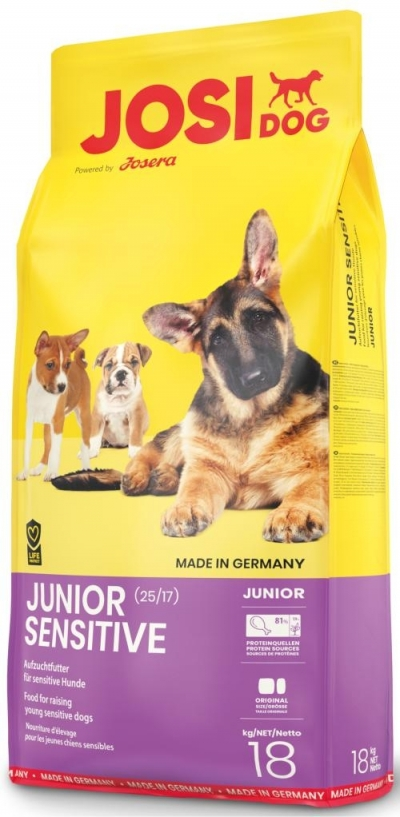 Josera JosiDog Junior Sensitive kutyatáp