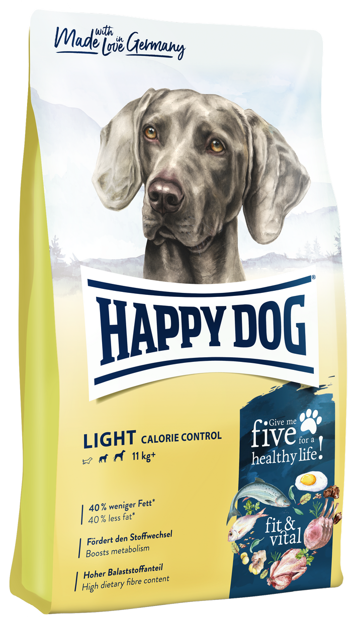 Happy Dog Supreme Fit and Vital Light Calorie Controll táp kutyának (2x12kg), happy dog kutyatáp