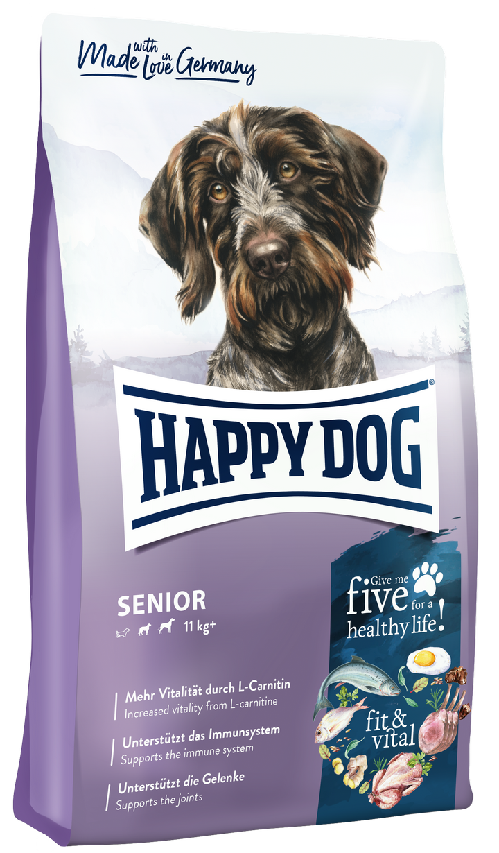 Happy Dog Fit and Vital Senior táp kutyának (12 kg)