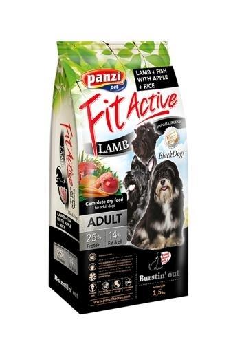 Panzi Fit Active BlackDogs kutyatáp