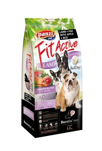 Panzi Fit Active Bulldogs kutytaáp