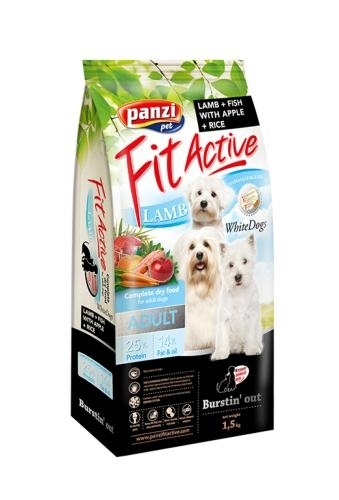 Panzi Fit Active WhiteDogs kutyatáp