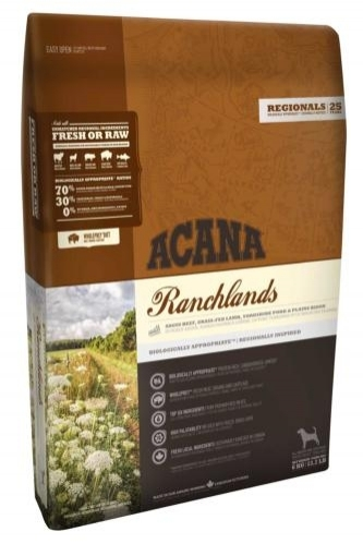 Acana Ranchlands dog kutyatáp (2x11,4 kg)