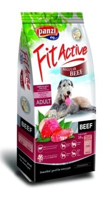 Panzi Fit Active Beef Regular kutyatáp (2x15kg)