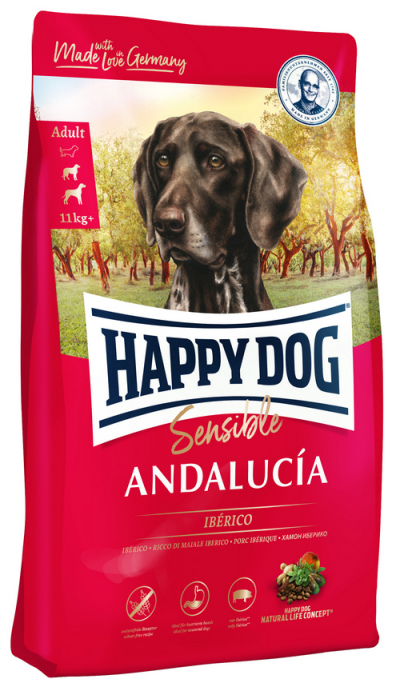 Happy Dog Supreme Sensible Andalucia táp kutyának (11 kg)