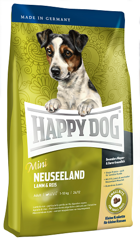 Happy Dog Supreme Sensible Mini Neuseeland táp kutyának, happy dog kutyatáp