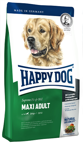 Happy Dog Supreme Fit and Well Maxi Adult táp kutyának, happy dog kutyatáp