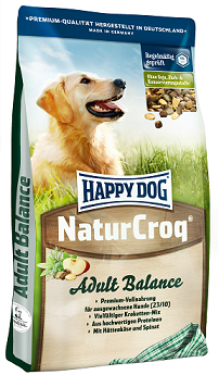 Happy Dog NaturCroq Balance táp kutyáknak, happy dog kutyatáp
