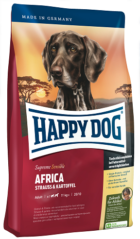 Happy Dog Supreme Sensible Africa táp kutyának (12,5 kg), happy dog kutyatáp