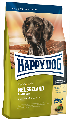 Happy Dog Supreme Sensible Neuseeland táp kutyának, happy dog kutyatáp