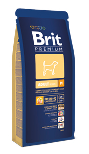 Brit Premium Medium Adult  kutyatáp (3 kg)