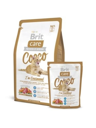Brit Care Cat Cocco I'm Gourmand macskatáp