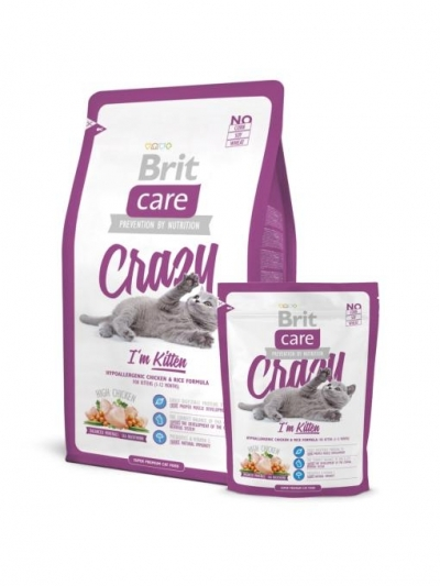Brit Care Cat Crazy I'm Kitten macskatáp