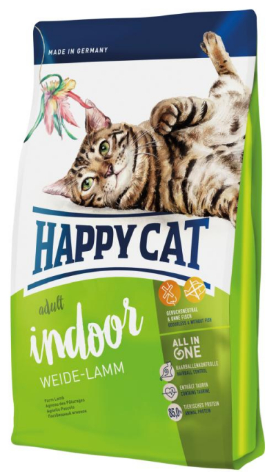 Happy Cat Adult Indoor Bárány macskatáp