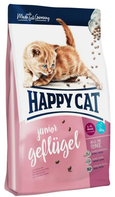 Happy Cat Fit & Well Junior Poultry macskatáp