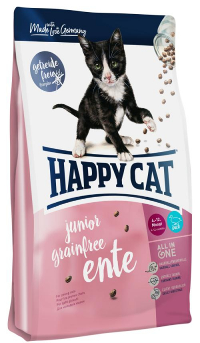 Happy Cat Fit & Well Junior Grainfree Kacsa macskatáp