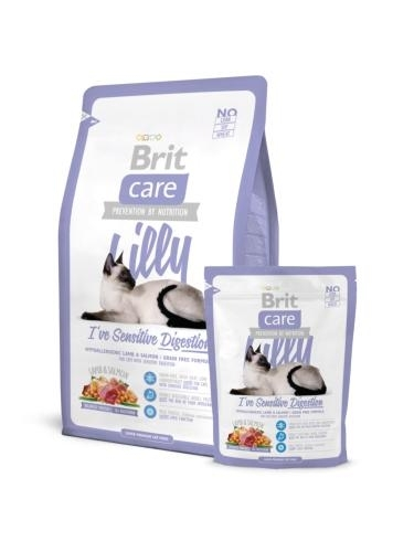 Brit Care Cat Lilly I've Sensitive Digestion macskatáp