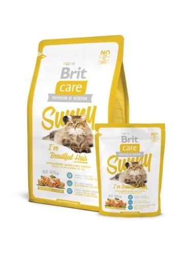 Brit Care Cat Sunny I've Beautiful Hair macskatáp