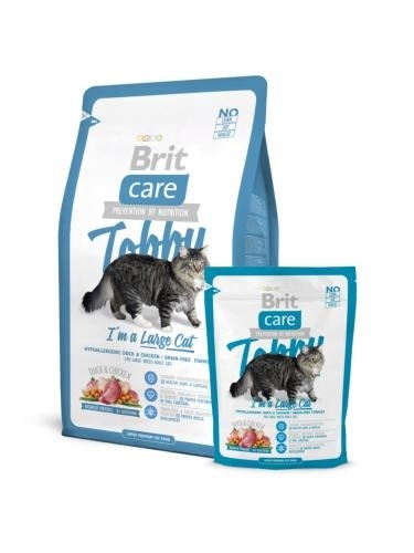 Brit Care Cat Tobby I'm a Large Cat macskatáp (7 kg)