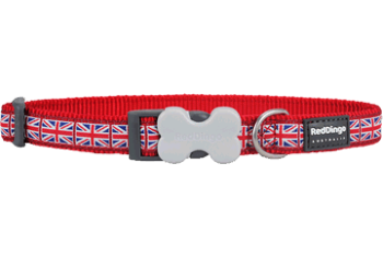 Red Dingo nyakörv Design Union Jack Flag on Red