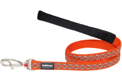 Red Dingo póráz Design Snake Eyes narancs