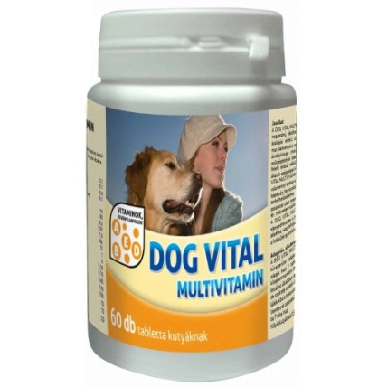 Dog Vital Multivitamin tabletta (60 db)